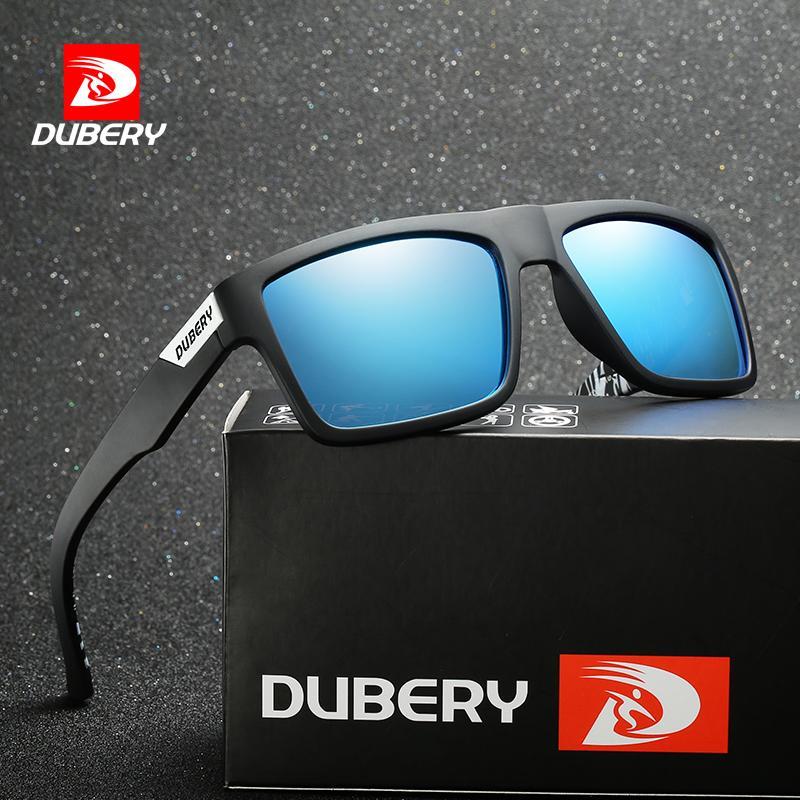 6d296152eb Compre 2018 Gafas De Sol Del Tipo De Moda De Dubery Gafas De Sol  Polarizadas Hombres Gafas De Sol De Diseño Clásico Con Espejo All Fit Con  Estuche De Marca ...