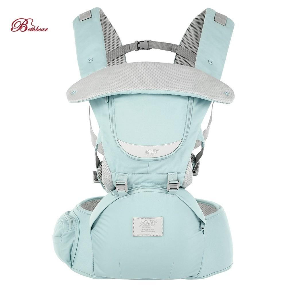 Activity & Gear 2019 New Style Bethbear 3 In 1 Hipseat Ergonomic Baby Carrier 0-36 Months Buckle Comfortable Mesh Wrap Infant Sling Backpack For Baby Kids