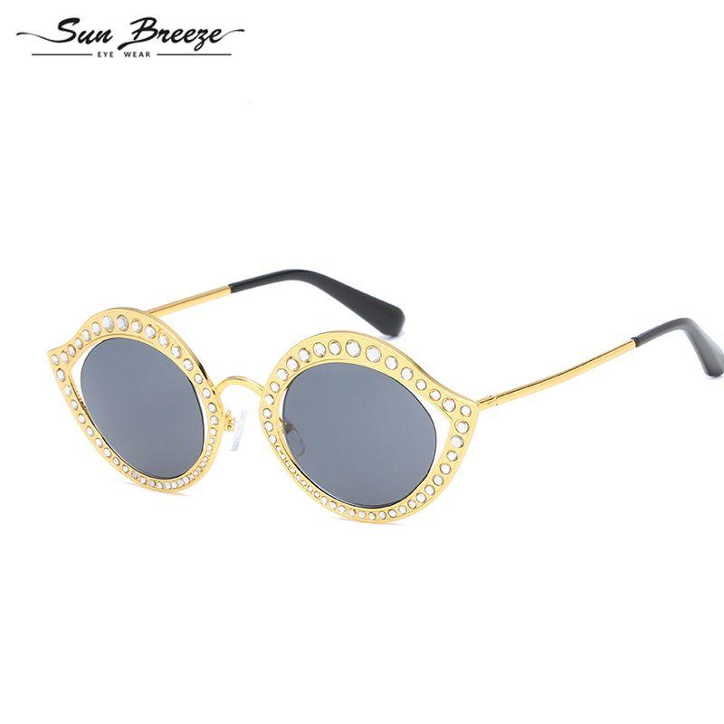 727d8afbfbd98 Compre Retro Cat Eye Sunglasses Mulheres Lente Óculos De Sol Moda Peso Leve  Para As Mulheres De Metal Do Vintage Eyewear De Alta Qualidade Uv400 Marca  ...