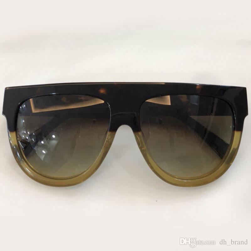 2f68c54e92f 2018 Trendy Vintage Sunglasses Women Men UV400 Black Gradient ...