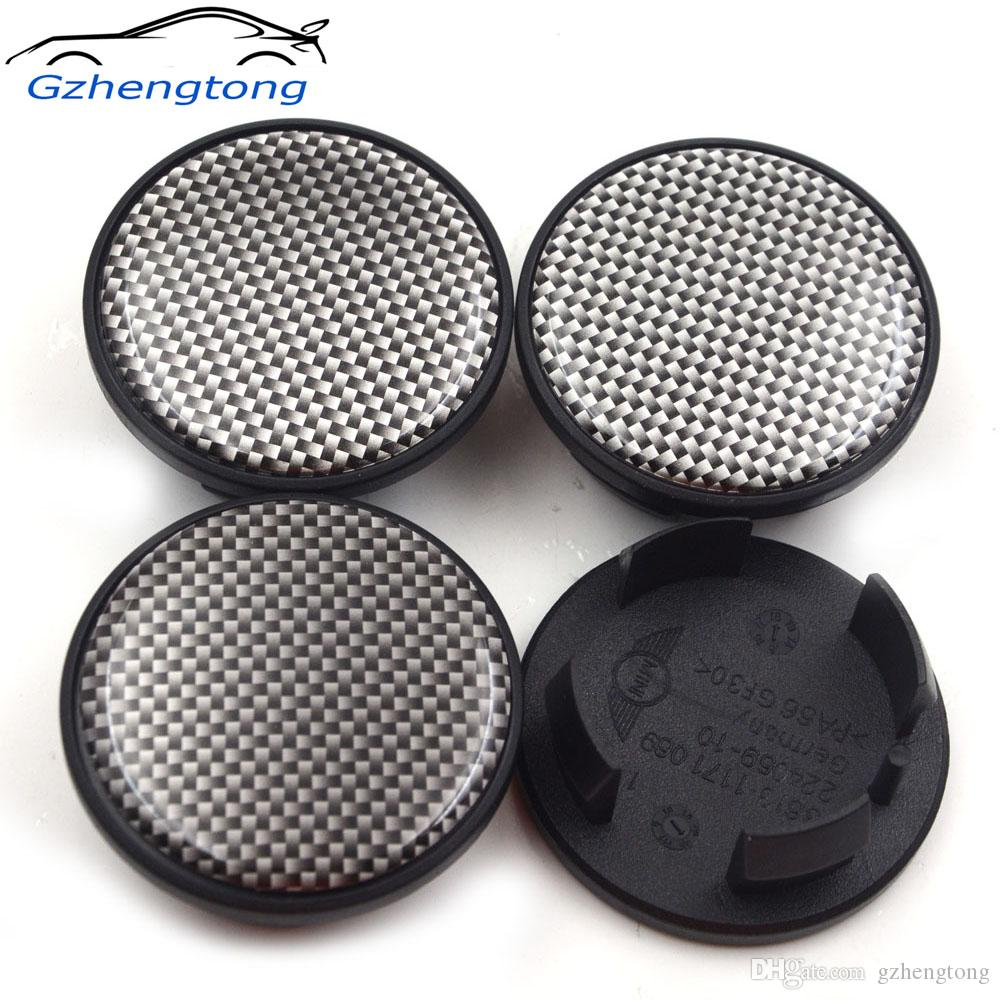 aa96ec5a3c8 Gzhengtong 54mm Small Check Wheel Center Caps For Mini Cooper One+ S  Countryman R55 R56 R60 R60 F55 F56 Car Styling Popular Car Logos Rare Car  Badges From ...