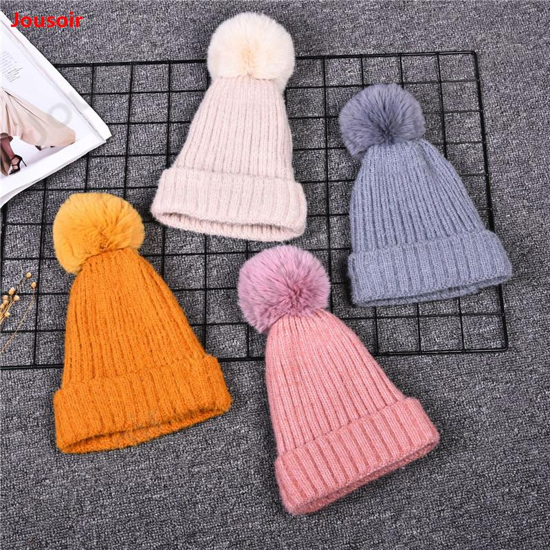 Fashion Candy Colors Mom Or Baby Knitting Keep Warm Hat Women Winter Hat  Family Matching Outfits Mom Baby Hats CD50 T02 Newborn Hats Knit Beanie  From Huazu 2c93aaacc837