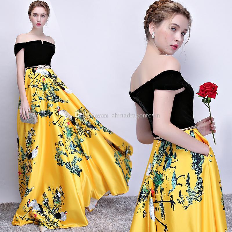 a24060fa5a9 Vestidos de verão desgaste Tradicional Chinesa Moderna roupas femininas  Longo Padrão Vintage qipao vestidos melhorados cheongsam estilo vestidos de  festa