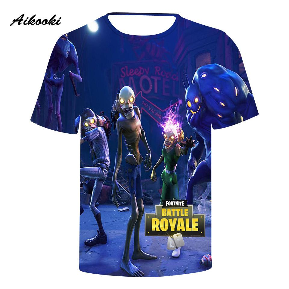 Grosshandel Harajuku T Shirt Manner 3d Fortnite 3d T Shirt Manner