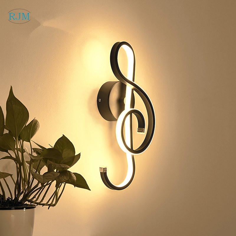Couloir Créatif Décoratif Minimaliste Salon Led Moderne Lampe Chambre Concepteur Mur Lit Corridor Nordique Lampes A5Rj34L