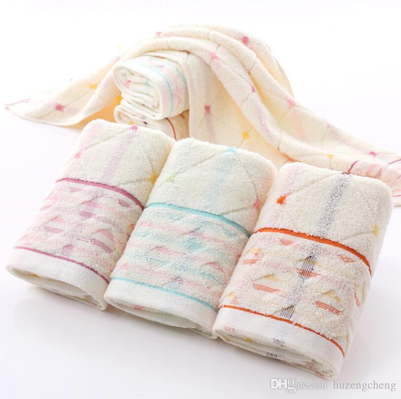 Free shipping 35 * 75 cotton thick towel soft absorbent supermarket gift towel