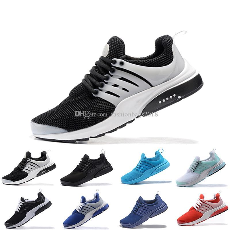 PRESTO 5 Sport Schuh BR QS atmen schwarze rote Turnschuhe der Männer Frauen laufende Schuhe gehende Designer Sportschuhe geben Verschiffen frei