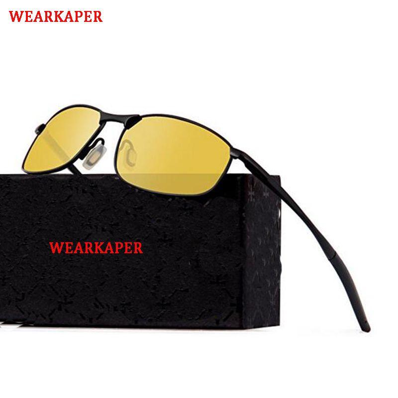 9485ca6aae318 WEARKAPER Brand Designer Original Polarized Sunglasses Goggles Men Designer  Mirror Glasses Oculos De Sol Eyewear Mens Sunglasses Police Sunglasses From  ...