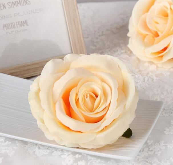Silk Rose DIY Photography Wedding Flower Wall Flower Ball Arrangement Artificial Rose Heads The Wedding Backdrop Party Decor GA228