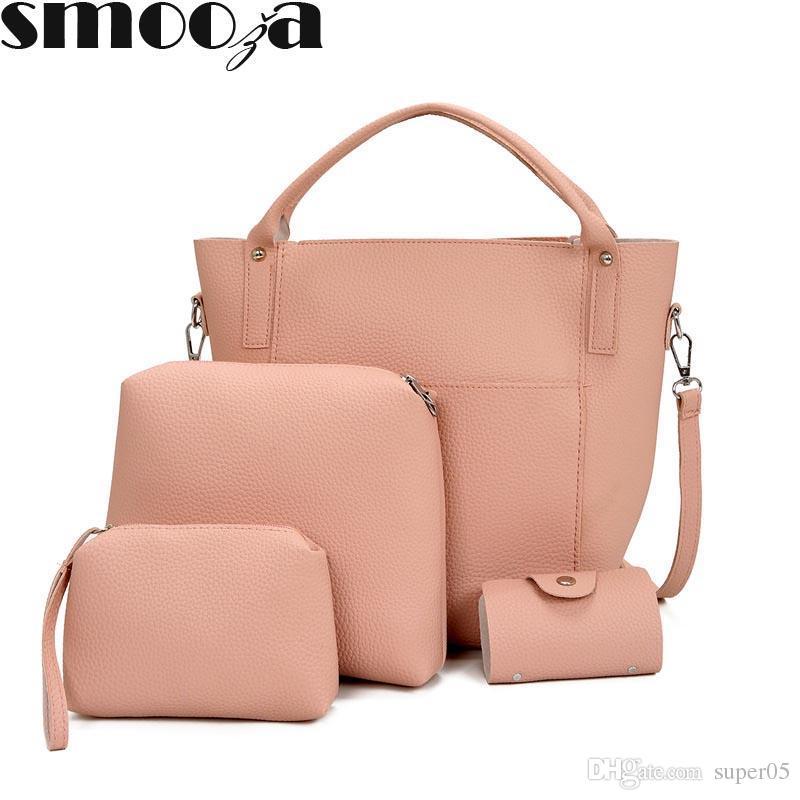 1b490c66bf3d7 Großhandel Composite Bag Set Für Frauen Tasche Pu Leder Schulter ...