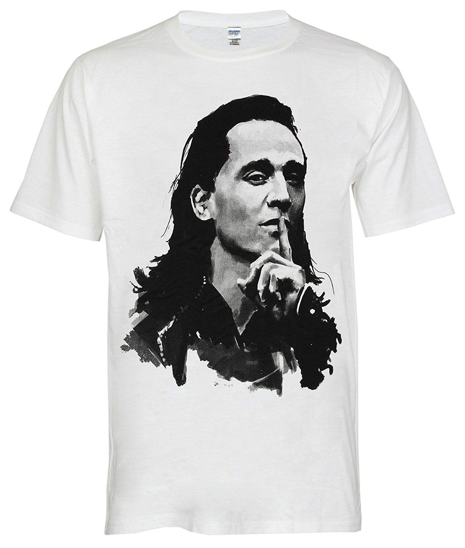 198c58cefe Acquista T Shirt Da Uomo Prezzo Più Basso 100% Cotone Topcloset Loki ...