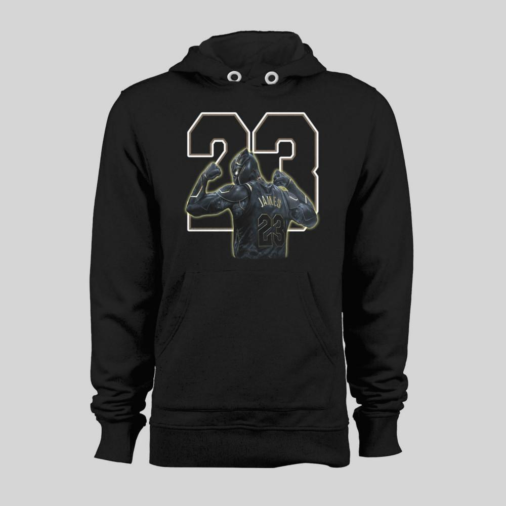 f455ee155 L.A. Lakers Lebron James Black Panther Parody Hoodie Men Shirt Canada 2019  From Dragonballtshirt, CAD $37.80 | DHgate Canada