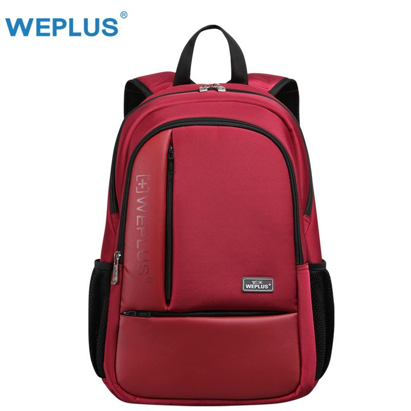 e42f6e9c64da Red Brand Laptop Backpack Men 14 15.6 Inch Multifunction Waterproof Oxford  School Backpack For Teenagers Casual Travel Backpack Swiss Gear Backpack  Osprey ...