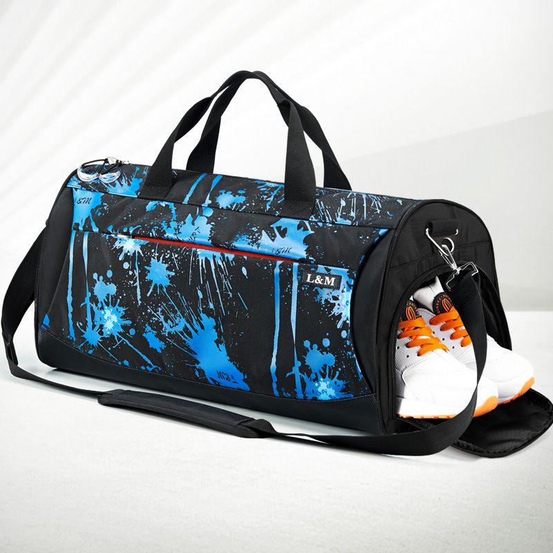 3903053717c8 Sports Gym Bag Women Men Fitness Bags Yoga Waterproof Nylon Sport Bag Travel  Training Shoulder Luggage Duffle Shoes Hunting Bags Duffle Bags For Women  ...