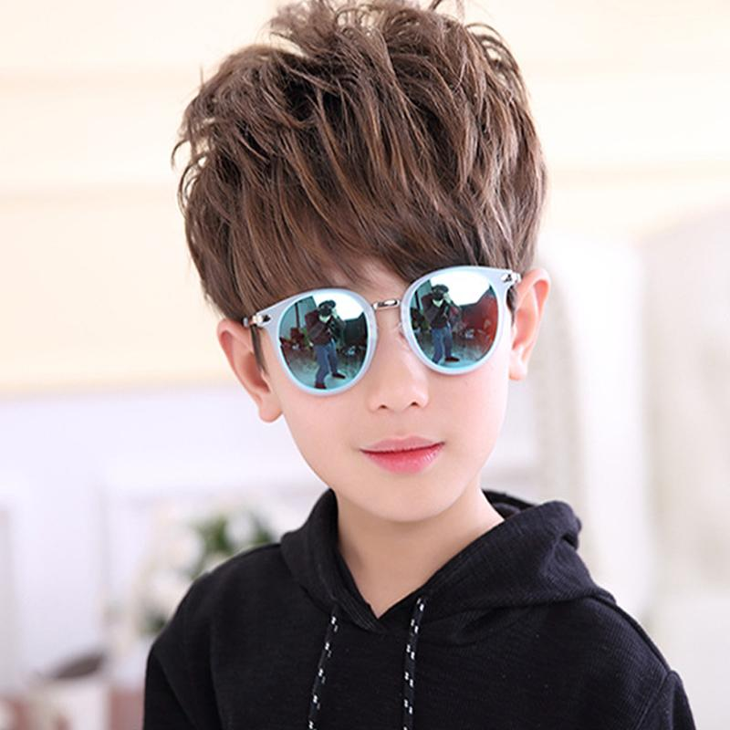 1584f2d0e24d Korean Trending Children Polarized Sunglasses Kids Round Colorful ...