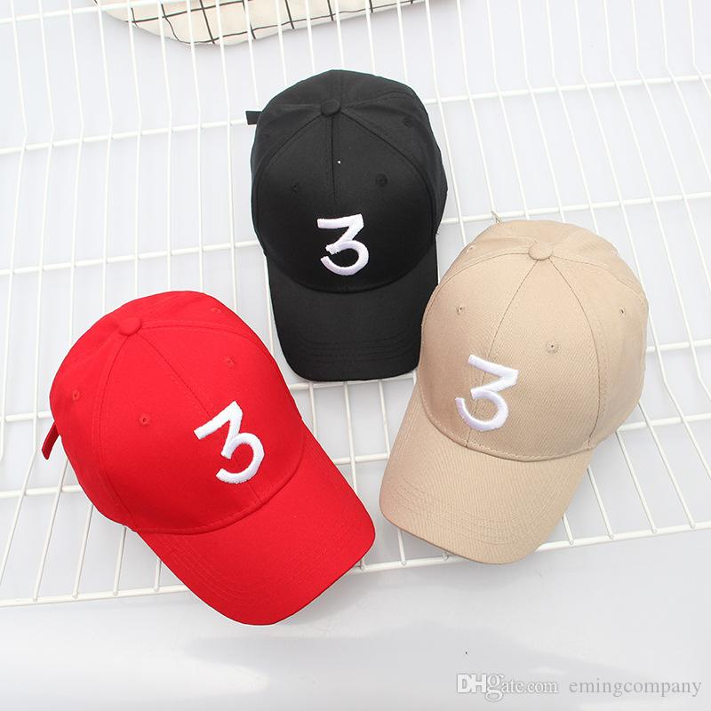 Designer Skull Caps For Man Women Popular Singer Chance The Rapper Chance 3  Cap Black Letter Embroidery Adult Baseball Caps Hip Hop Golf Hat Hat  Embroidery ... 1eb4dd875a5a