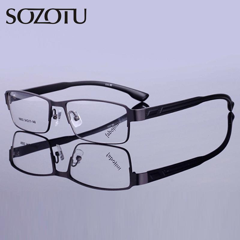 4cd5264108e Cheap Eyeglasses Titanium Frames for Man Best Men Optical Eyewear Frames