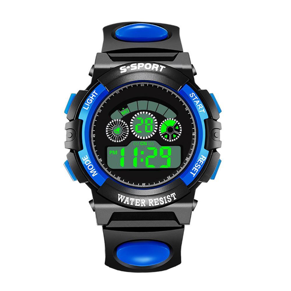 1bf3cdc117fe Compre Moda Para Hombre Digital LED Reloj De Pulsera De Cuarzo Analógico  Fecha Deportes Reloj Electrónico Relojes De Pulsera De Los Hombres A  22.6  Del ...