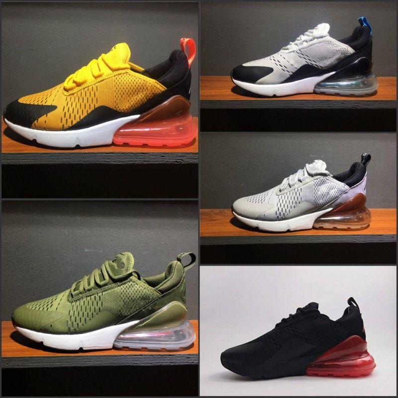 Running shoes sneaker 270 Man women Flair triple black white Navy orange Bruce Medium Olive Teal fashion Trainer Sports Shoe 36-45 discount cheap sale websites 0uSFmTD77O