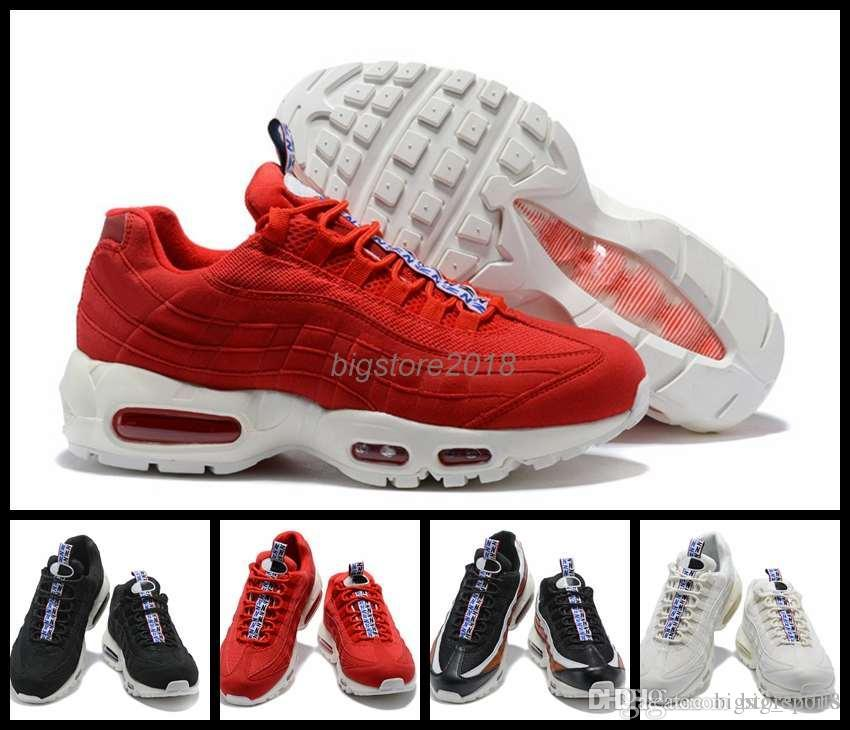 2018 Running Shoes 95 Women Men Japan White Blue Red 95s Fashion Sports Mens Trainers 95 Sneakers Size 36-46 WithBox buy cheap get to buy cheap real uo3iYevf