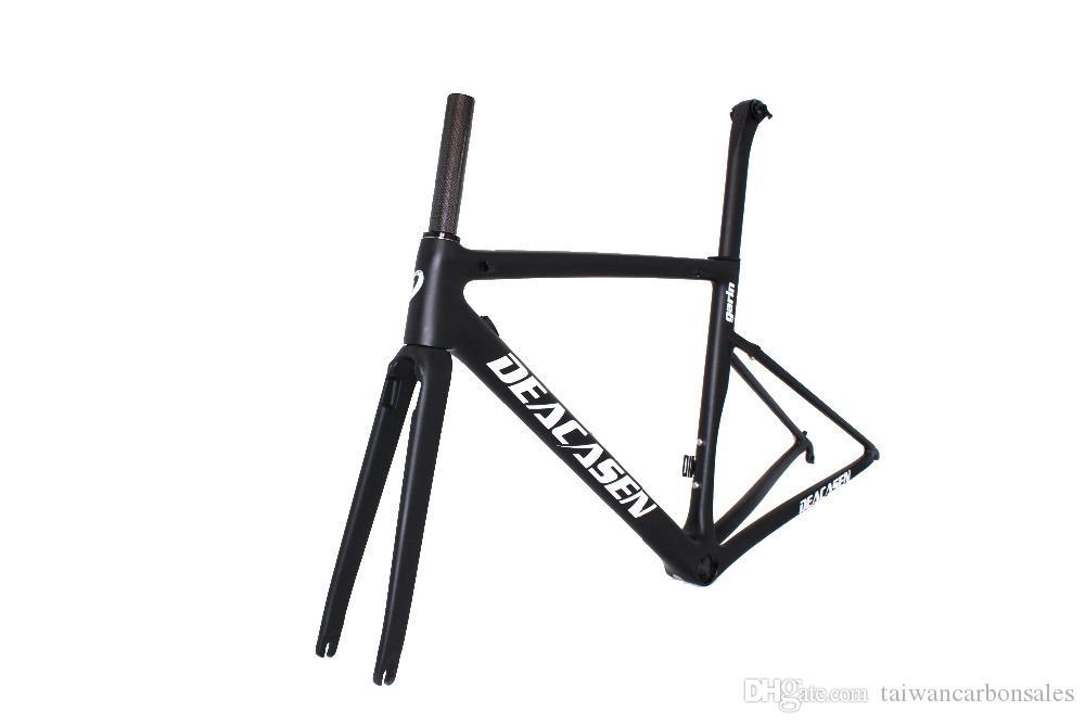 2018 New Carbon Bike Frame Light 3k Weave Bike Frameset New Design ...