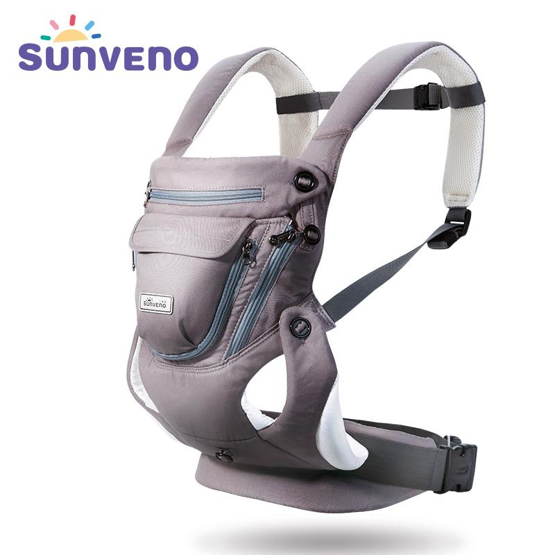90490833d7f 2019 Sunveno New Baby Carrier Backpack 0 12 Months Breathable ...