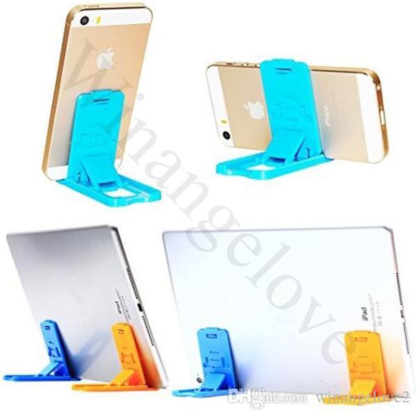 Pliable Mini Mobile Phone Holder support de téléphone paresseux de téléphone lit affichage téléphones Accessoires pour tablette iPhone Samsung Galaxy Xiaomi