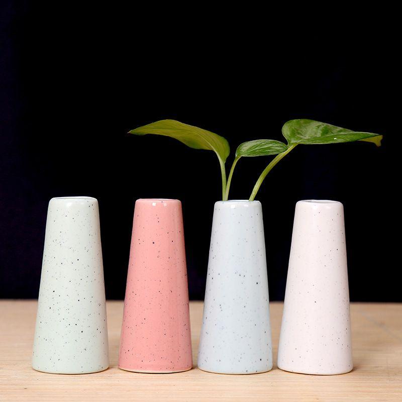 Modern China Wedding Decoration Flower Vase Ornament Floral Plant
