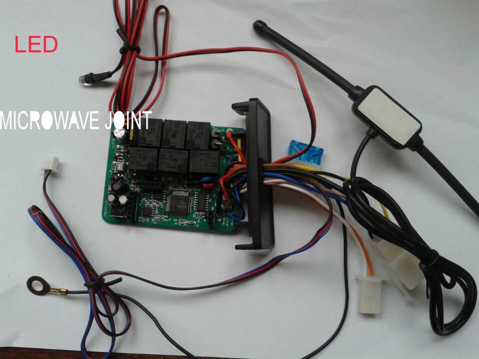 In Stock Beret NTO Motorcycle Two Way Alarm System LM898TS-T with Microwave sensor