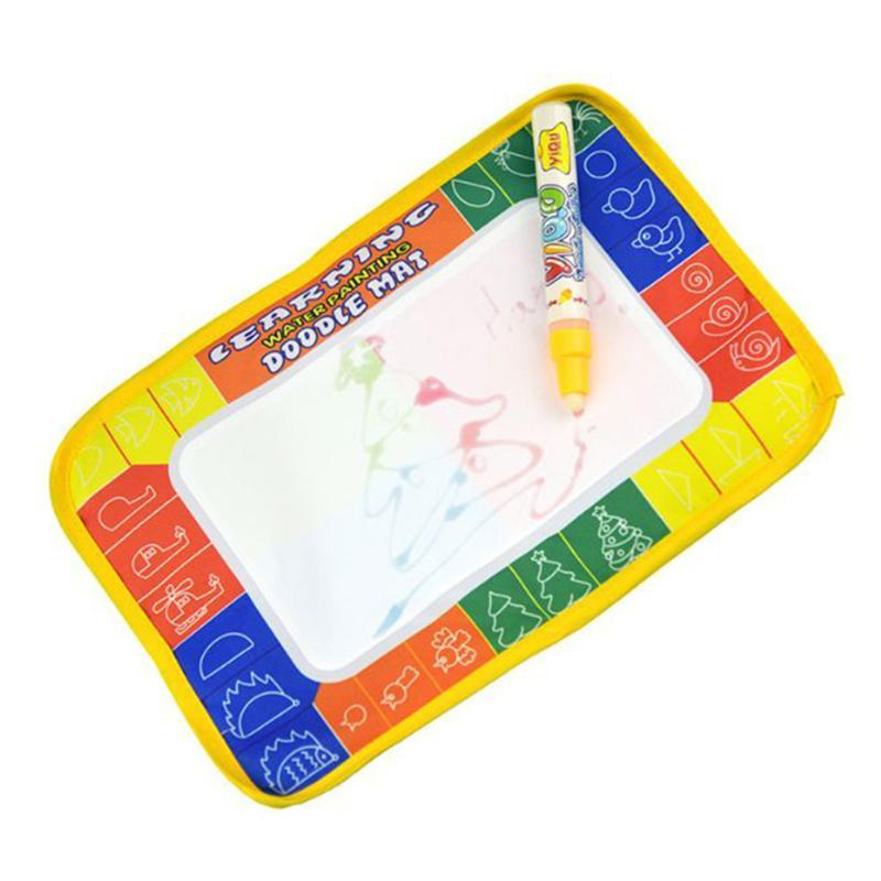 Magic Water Drawing Book Doodle Painting Graffiti Water Drawing Board Water Coloring Kids Early Educational Toy Gift free shipping