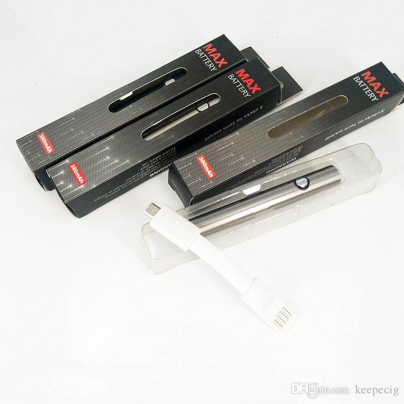 Аутентичные Амиго Itsuwa Макс батареи 380 мАч переменное напряжение Нижний заряд подогрева батареи Нижний заряд Fit 510 нить толстый масляный бак CE3