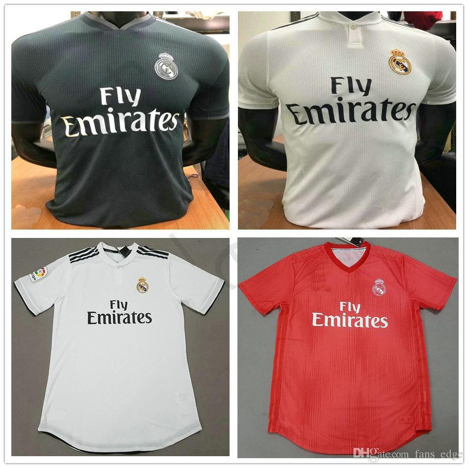 c2bd3e749dc Player Version Real Madrid MODRIC RONALDO ASENSIO BALE ISCO Home ...
