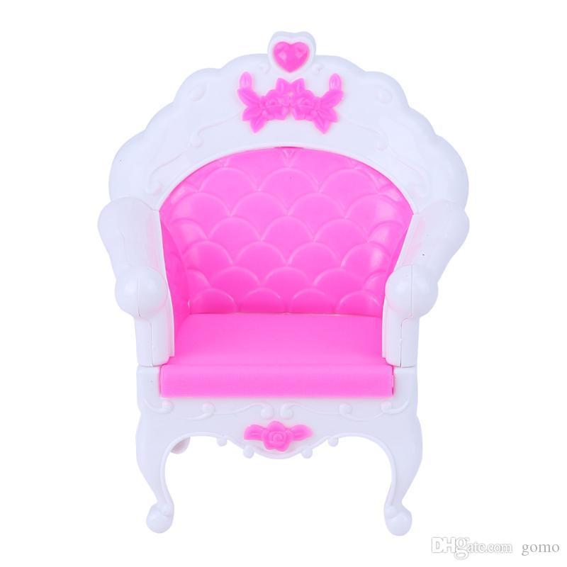 Princess Sofa Armchair Cute Dolls Pink Single Chair Baby Toy Sweet  Dreamlike Furniture For Barbie Dolls Accessories Doll Accessories Baby Doll  Accessories ...