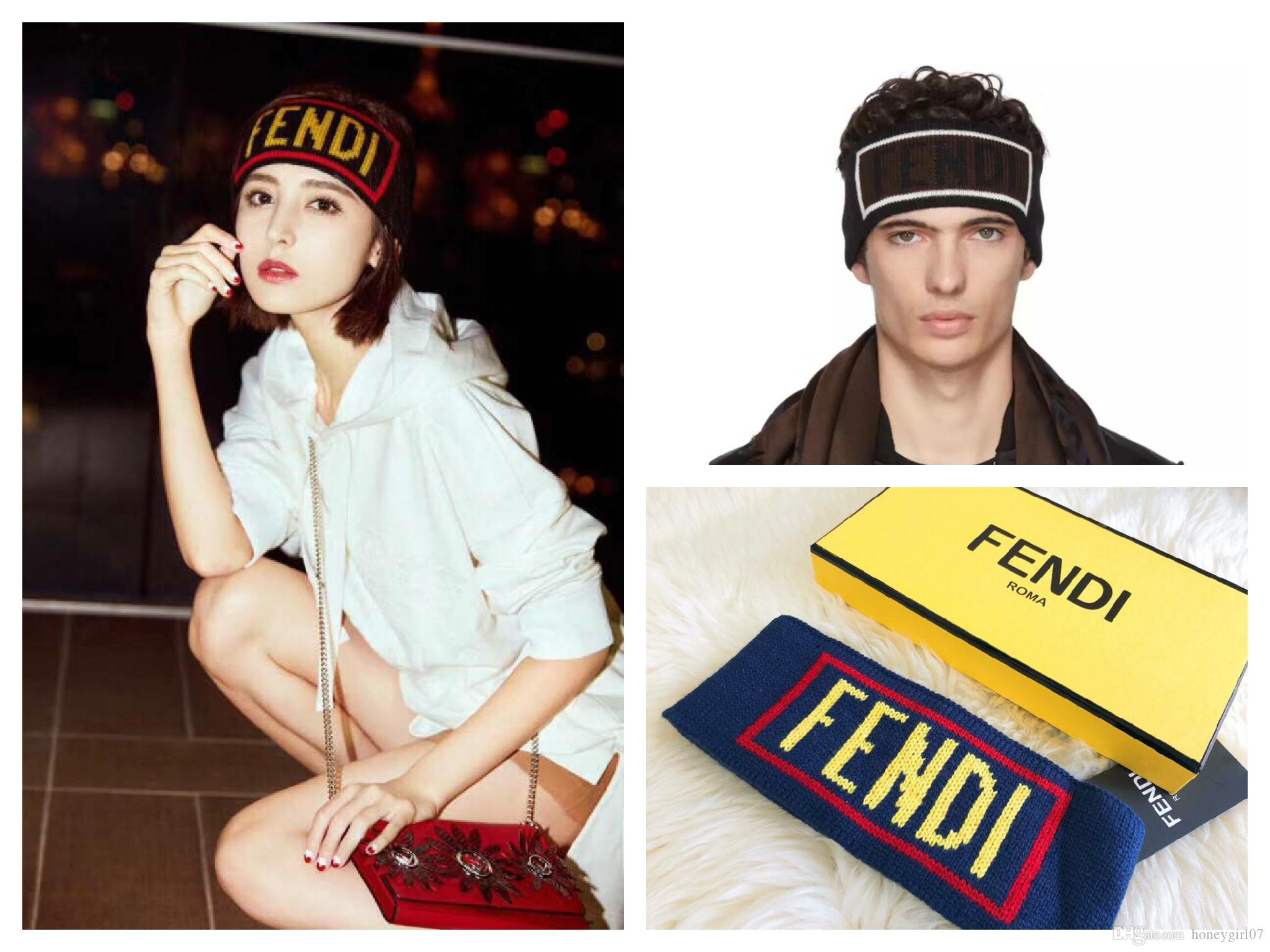 In Stock Lovers Luxury Brand Headband For Men And Women F Brand Headband  Wool Letter Hair Band With Tag For Best Gift Hair Decoration Decorative  Hair ... b39db5288c8