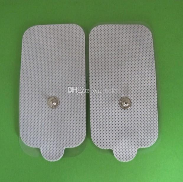 Large- rectangular self adhesive Tens unit massage Replacement electrode pads for ems therapy slimming massage machine 5cm*9cm