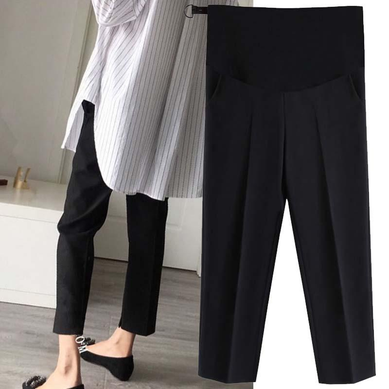 f779eb35f5272 2019 Maternity Pants Trousers For Pregnant Women Wear Easy Casual Pants  Pregnancy Clothes Overalls Ninth Pregnancy From Hanlley, $26.55 | DHgate.Com