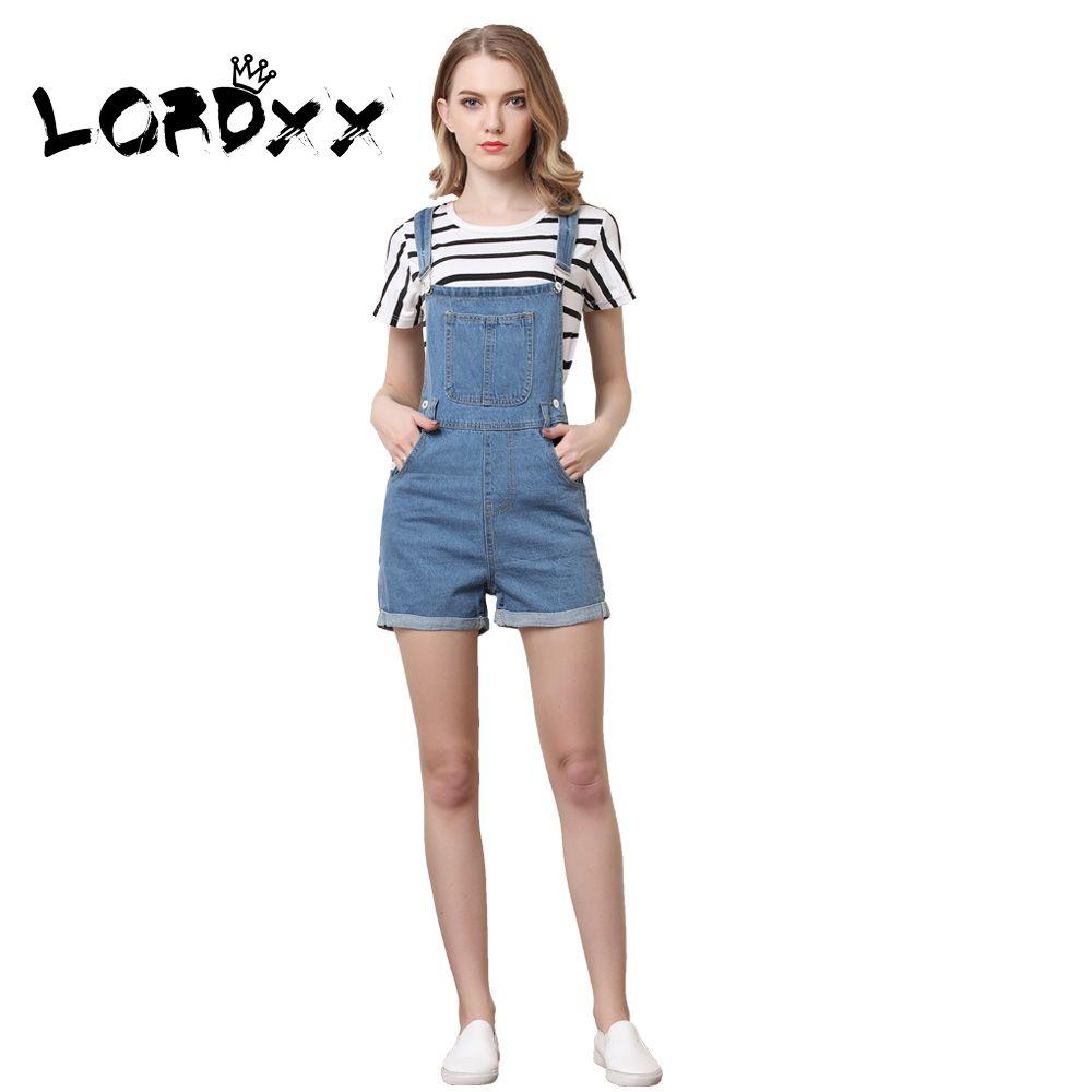 2019 LORDXX Denim Overalls Shorts Women Blue Summer Short Jumpsuits  Playsuits 2018 New Romper Combinaison Short Femme Jean Shorts From  Vanilla06 7e2851b16d36