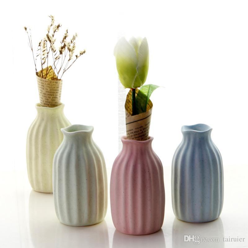 Decorative Flower Vase Delicate Solid European Style Mini Flower