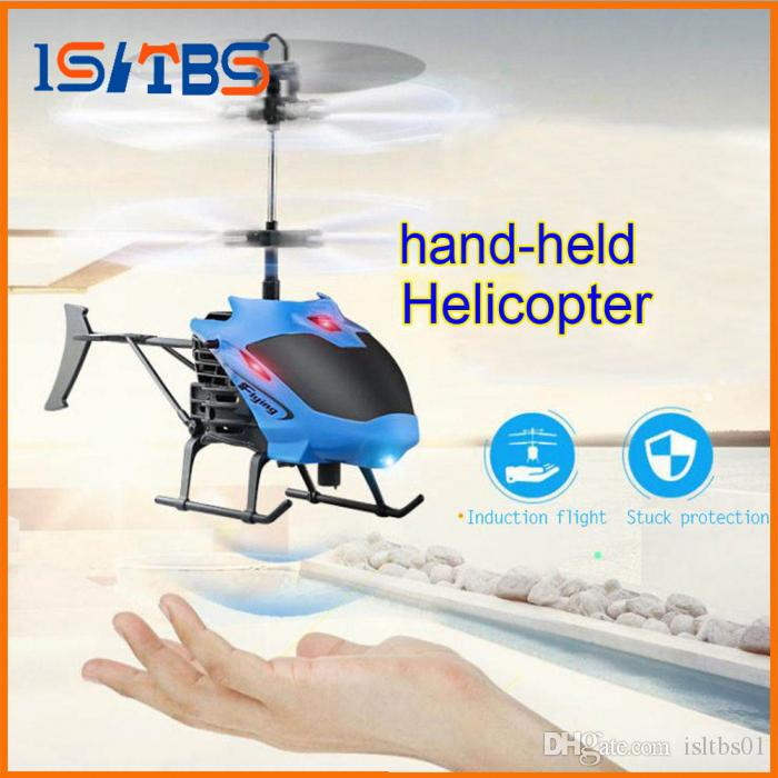 Superb Mini Drone Aircraft RC Helicopter Gesture Induction Automatic Power  Protection LED Flash Light Remote Control Toy Parrot Ar Drone 20 Drones  With Video ...