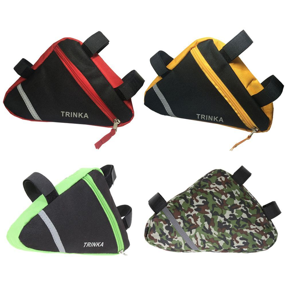 Triangle Pouch Bag For Bicycle Front Tube Frame Phone Waterproof ...
