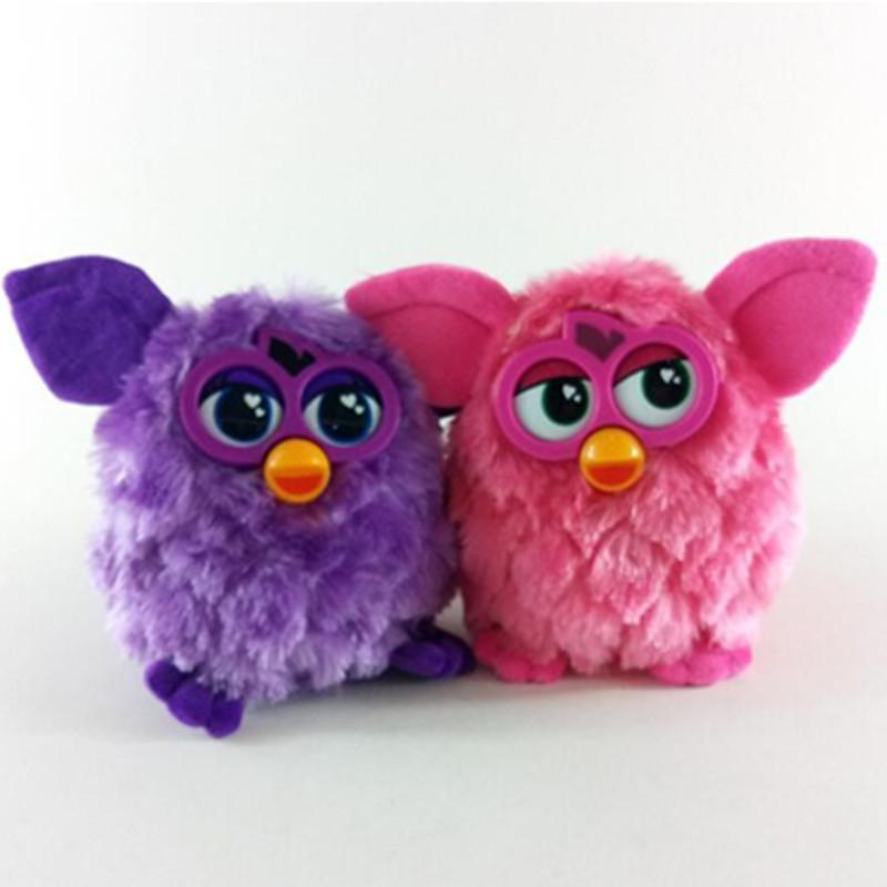 Juguetes interactivos electrónicos Phoebe Electric Pets Owl Elves Plush Recording Talking Juguete inteligente Regalos Furbiness boom