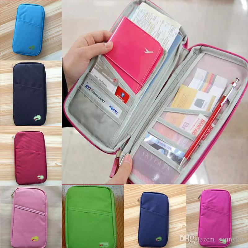 415c98318570 Fashion Cover Wallet Purse Holder Case Document Bag Travel Passport ...