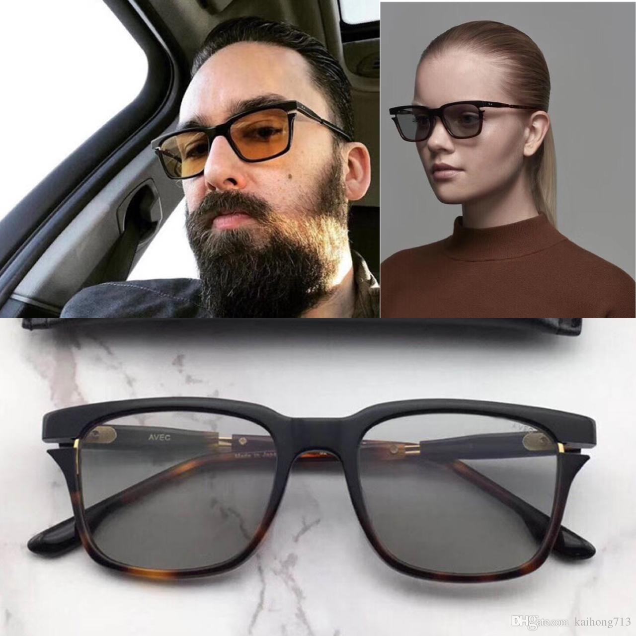 190378729a2cf Compre Novo Luxo AAAAA AVEC Marca De Moda De Luxo Clássico Estilo Óculos De Sol  Melhor Qualidade De Metal Homens E Mulheres Design De Kaihong713