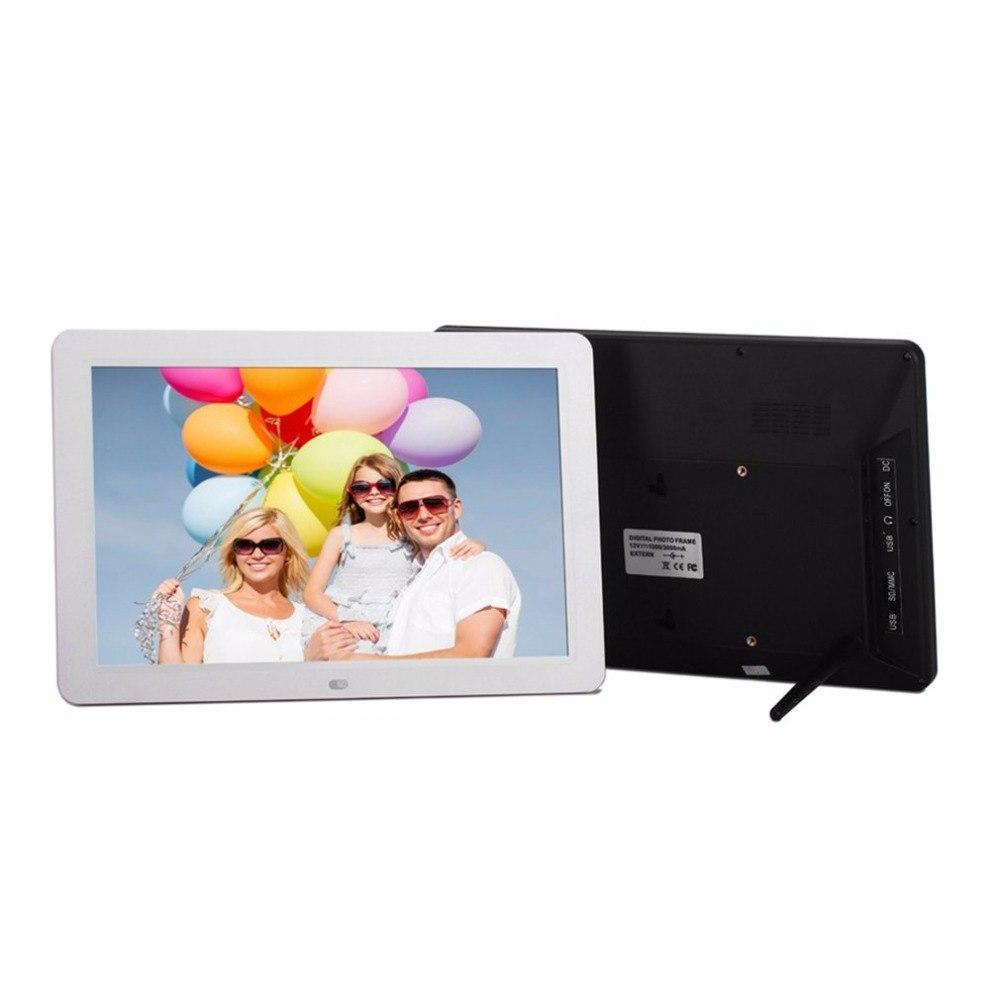 Multifunctional 12 LCD Digital Photo Frame 1280*800 High Resolution ...