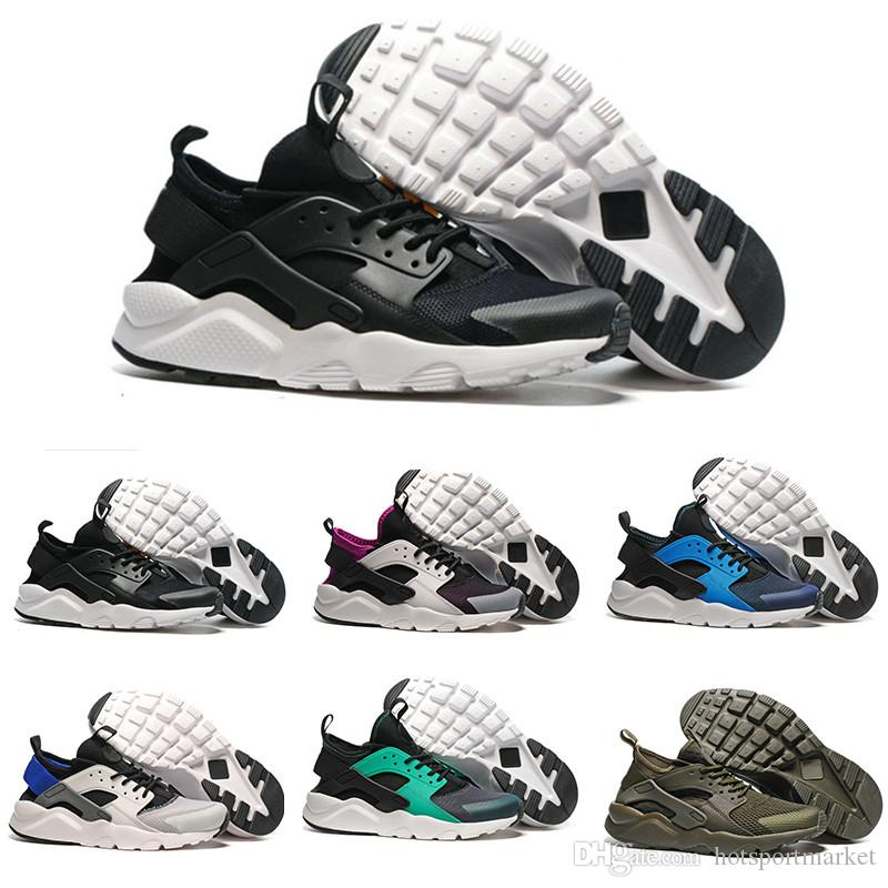 dab485f91bd63 New Design Air Huarache 4 IV Running Shoes For Women   Men ...