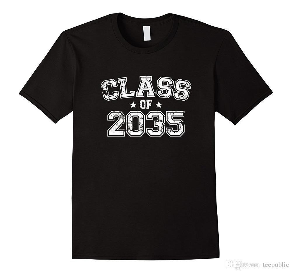 Make A T Shirts Online Mens Distressed Class Of 2035 T Shirt
