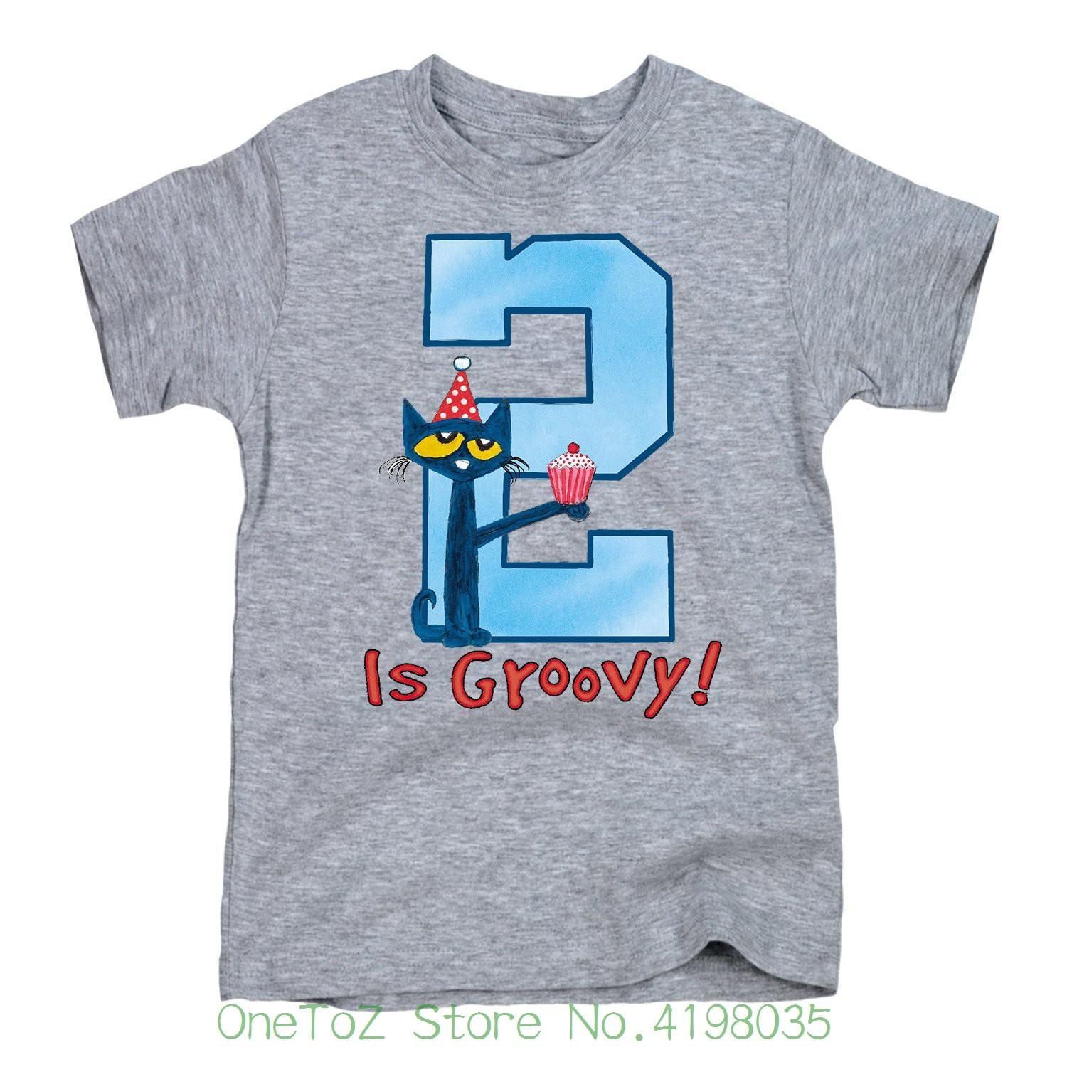 2nd Birthday Boys Toddler Short Sleeve Tee New Fashion Mens Tshirt Cotton T Shirts Vintage Band From Onetozstore