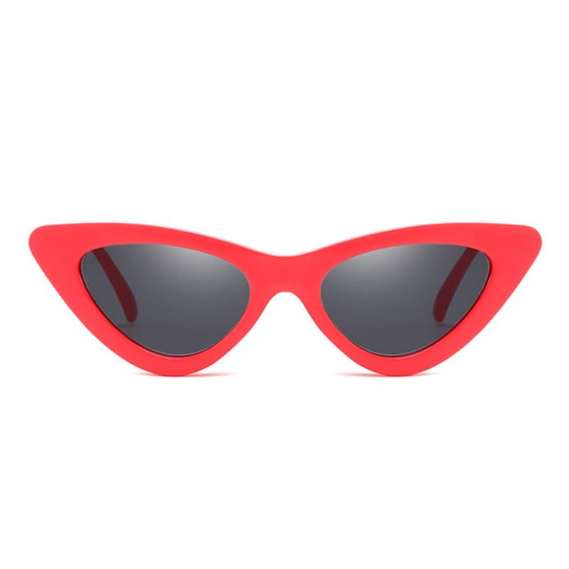 ace0c309ab2c 2018 Small Cat Eye Sunglasses Women Brand Designer Vintage Sexy Red Frame  Ladies Sunglass Sun Glasses For Women Female Sunglass Bolle Sunglasses  Electric ...