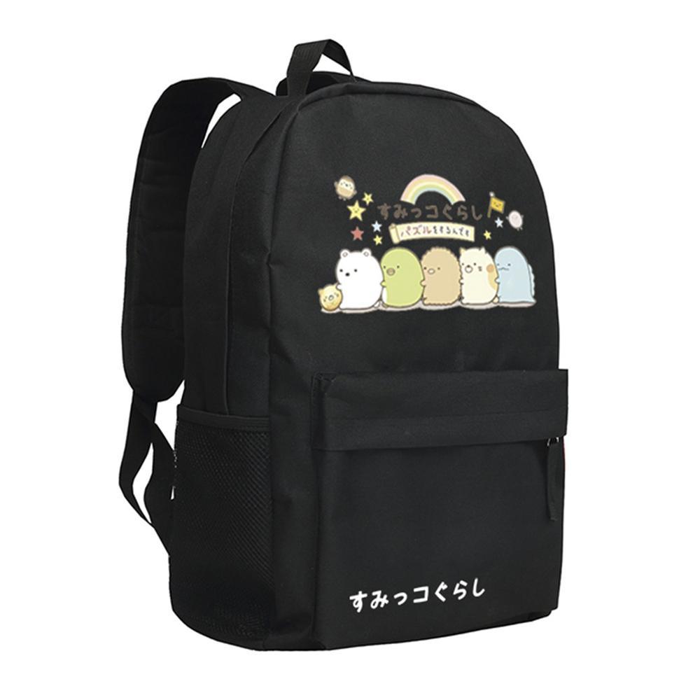 e1788bd931c8a7 Sumikkogurashi Backpack Male Female Students School Bag Rucksack Backpack  Boys Backpacks From Ajkobeshoes