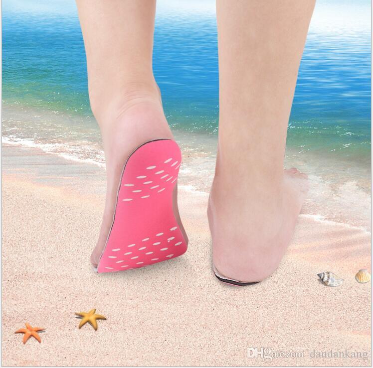 Summer foot soles Invisible Beach Shoes foot pads waterproot shoes Boat socks beach swim pool foot feet pads